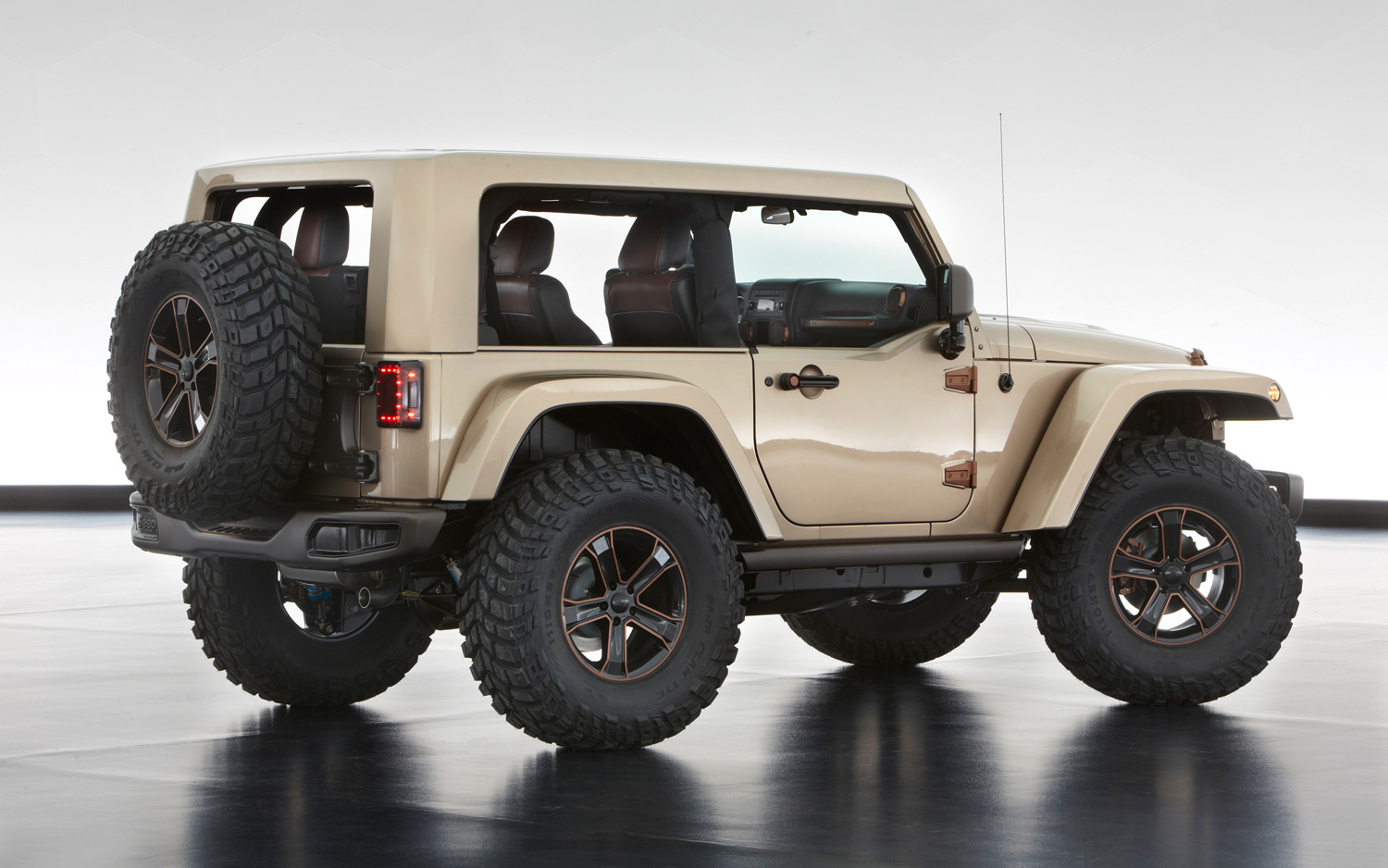 auto gets a graph l time open diesel the for preview roadshow hybrid wrangler turbo at first show jl jeep options